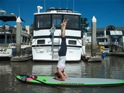 benicia yoga house sup yoga class stand up paddle stand up paddle lessons benicia kite and paddle sports