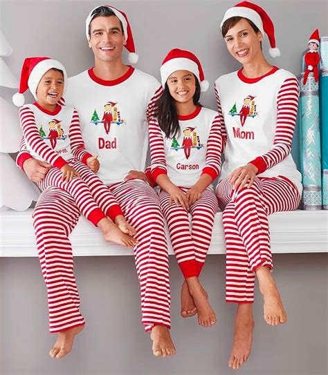 family christmas pajamas affordable