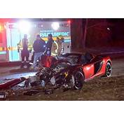 McLaren Sports Car Crash Knocks Out Power On Burlington