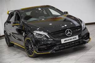 used 2017 mercedes a class amg a 45 4matic yellow