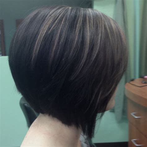 growing out pixie to stacked aline bob growing out a stacked bob short hairstyle 2013