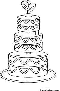 wedding cake coloring pages 1000 images about kids coloring on pinterest wedding