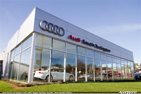 audi dealership audi honors 61 dealers with 2013 magna society awards