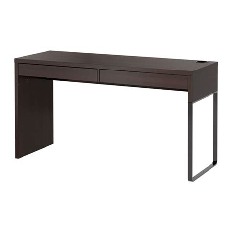 Micke Desk Black Brown Ikea Ikea Desk