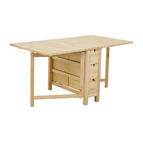 Ikea Norden Gateleg Table Birch Home Design Ideas