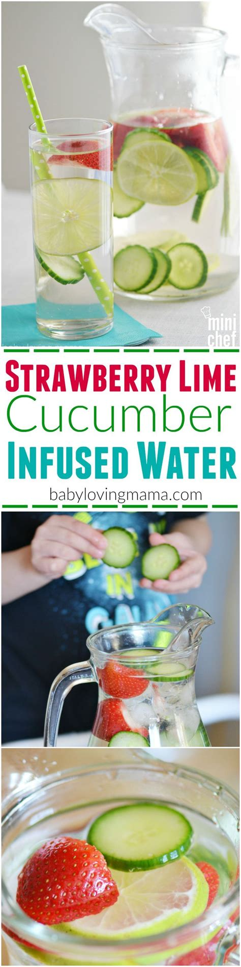 Cucumber Infused Water Detox by 1000 Ideas About Cucumber Infused Water On