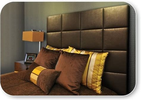 california king upholstered headboard in bronze faux