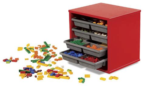 Toy Storage Ideas Living Room by Lego Storage Tray Unit Modern Toy Organizers By Amazon