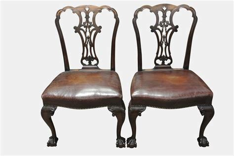 antique side chairs pair george ii side chairs antiques atlas