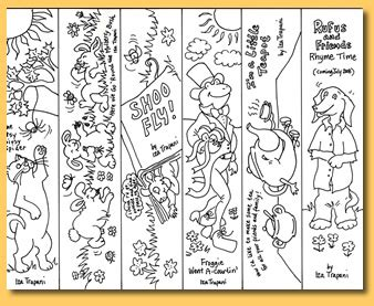 printable animal bookmarks to color 8 best images of printable bookmarks coloring pages