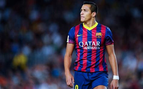 alexis sanchez on barcelona images barcelona nike 2014 15 home away kits leaked