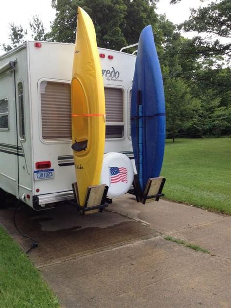 Travel Trailer Kayak Rack kayak racks for back of fifth wheel rv kayak stuff the o jays the back and kayaks