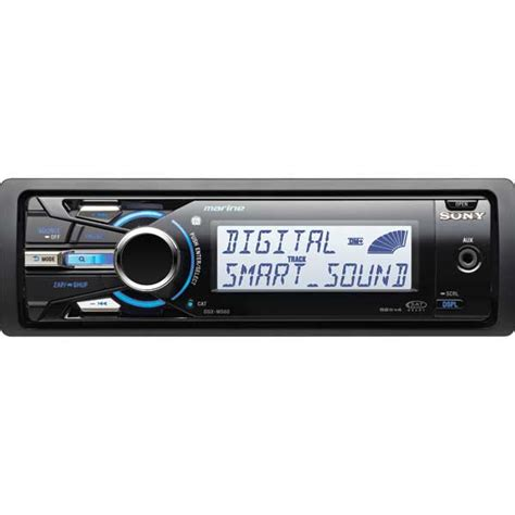 boat stereo west marine sony dsx ms60 stereo w ipod tray west marine