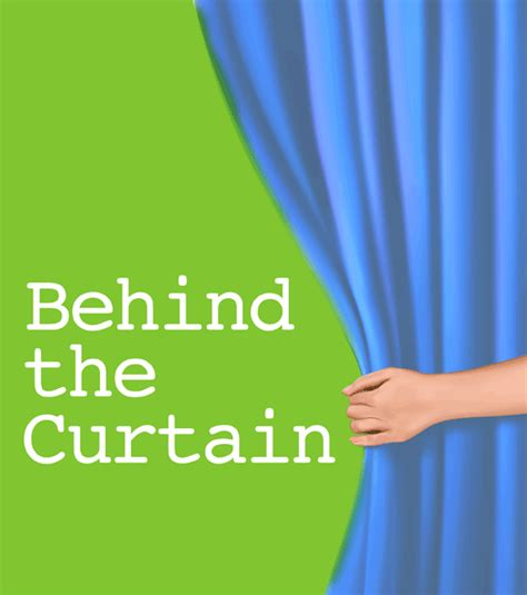 behind the curtain book behind the curtain a working relationship with a cover