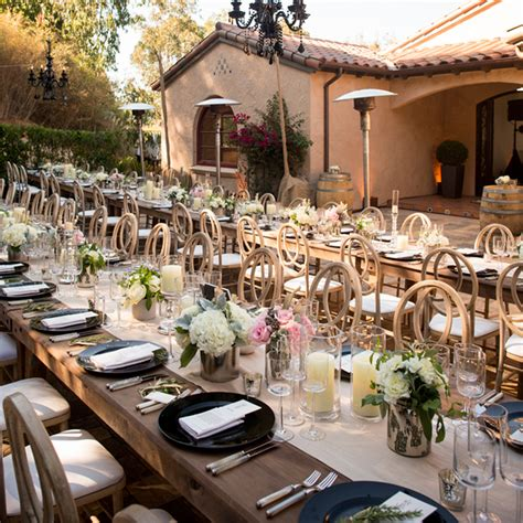 elegant backyard wedding reception savvy deets bridal real weddings josephine erick s