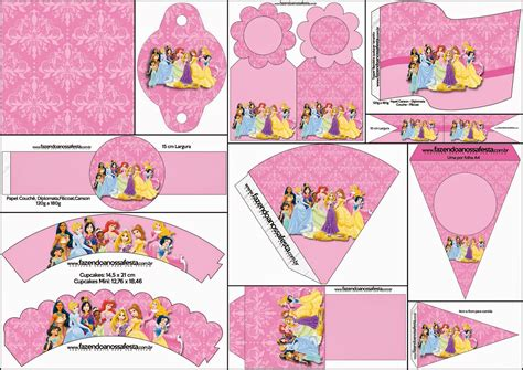 free printable party decorations princess 7 best images of disney princess party free printables