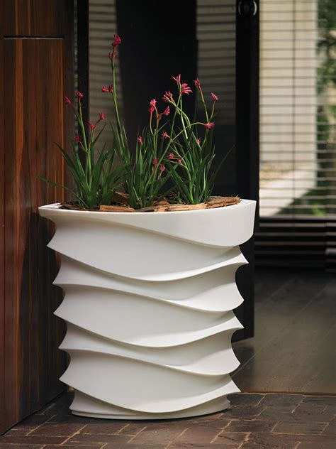 Large Patio Pots Beautify Your Garden With Large Garden Planters Front