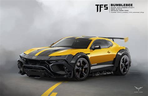 Bumblebee Auto by Transformers The Last Concept By Yang
