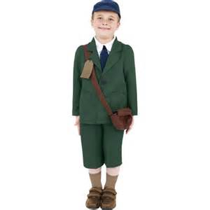 Costume World World War Ii Evacuee Boy Costume Boys 1940s Costume
