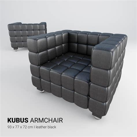 kubus armchair kubus armchair chair 3d turbosquid 1154135