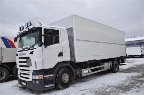 used scania r420 4x2 containerframe trucks year 2008