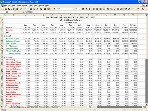 Income And Expenses Spreadsheet For Small Business Natural Buff Dog Income And Expenditure Template For Small Business