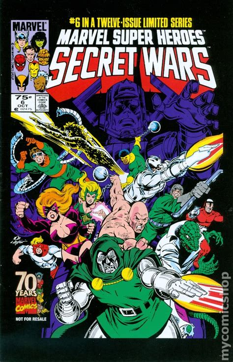 libro marvel super heroes secret secret wars comic books issue 6