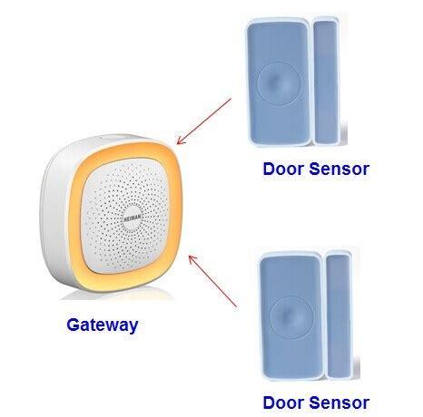 home security system starter kit zigbee gateway