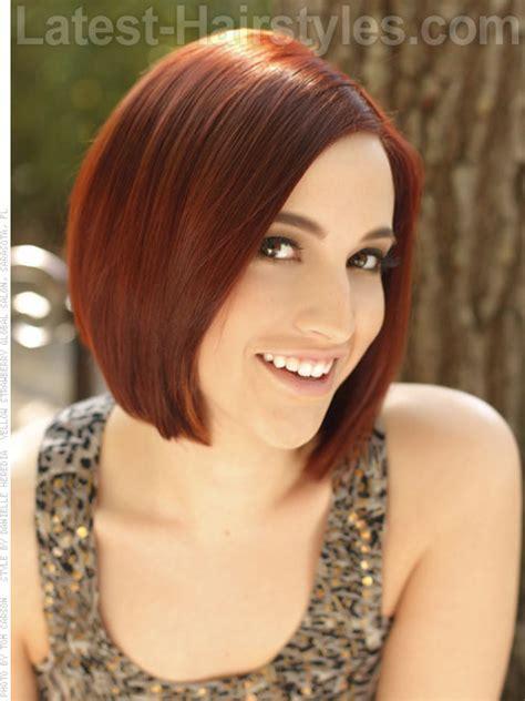 haircuts to soften a big chin sleek short bob hairstyle this incredibly shiny haircut is