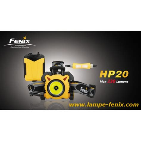 lade frontali fenix fenix hp20 230 lumens