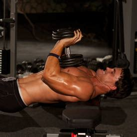 close grip bench press dumbbell close grip dumbbell press exercise guide and video