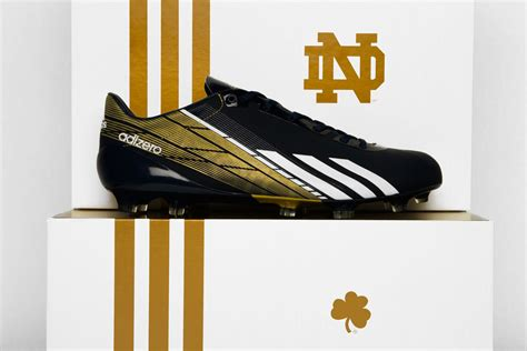 notre dame football shoes notre dame to debut custom adidas adizero 5 2 0