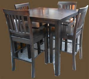 pub table and chairs uhuru furniture collectibles pub table and 4 chairs sold