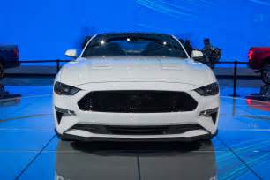 2018 ford mustang first look first refresh since ponycar went global
