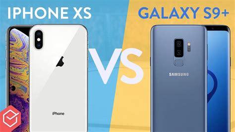 iphone xs vs galaxy s9 qual 233 o melhor comparativo escolhasegura