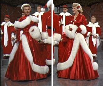 rosemary clooney white christmas red dress what to wear this christmas 2010 beauty and trends