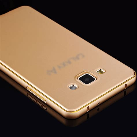 Fashion Alumunium Bumper Samsung Galaxy A5 phone cases for samsung galaxy a3 a5 a7 luxury aluminum