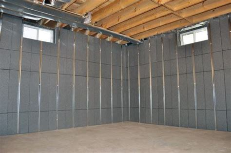 insulating basement walls with foam board home design