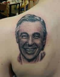 mr rogers tattoos mr rogers meaning mister fred rogers neighborhood
