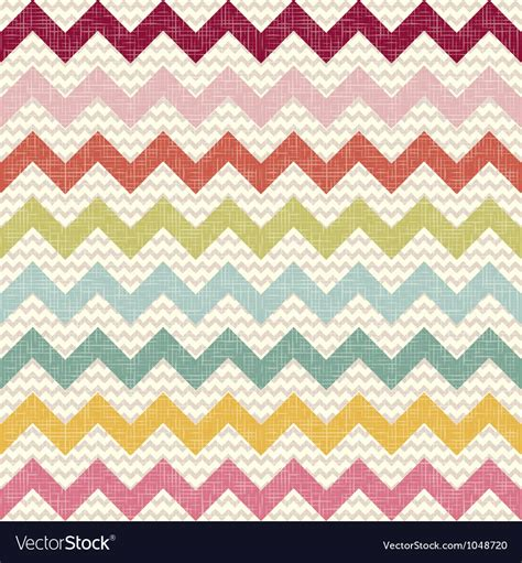 linen pattern ai seamless color chevron pattern on linen texture vector art