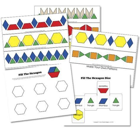 verb pattern block 53 best ten on the sled images on pinterest preschool