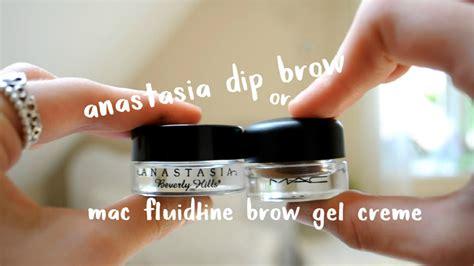 Mac Brow Gel dip brow or mac fluidline brow gel creme