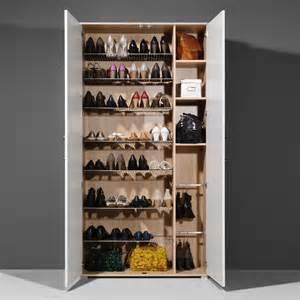 meuble 224 chaussures 40 paires 2 portes en bois