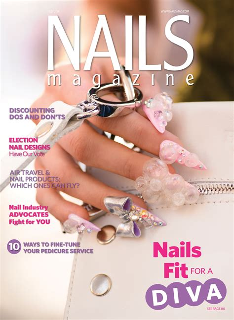 Nail Magazine by Nails Magazine July 2016 Issue