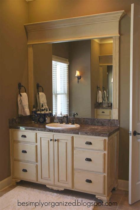 nice   frame  bathroom mirror bathroom ideas