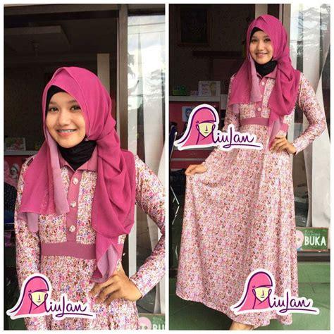 Gamis Syari Modern Yara Purple Murah Cantik Terbaru Modis 1 baju muslim gamis terbaru jual gamis terbaru