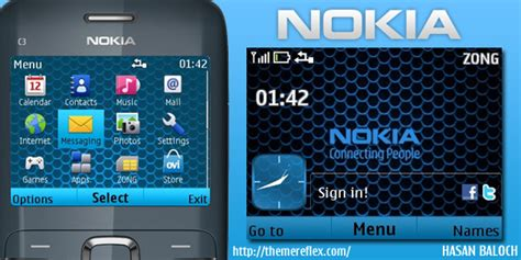 themes pour nokia c3 search results for nokia x2 01 clock nth themes com