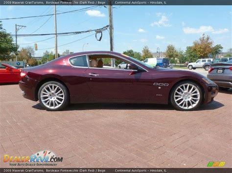 2009 Maserati Granturismo Bordeaux Pontevecchio Dark Red