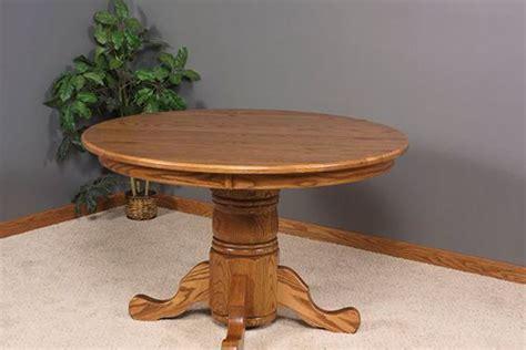 runder speisesaal tischset ebay esszimmer len elegante amische runden podest tisch