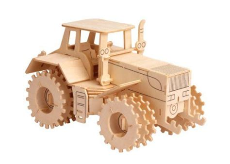 tractor vector model cnc router  laser cutting dxf file